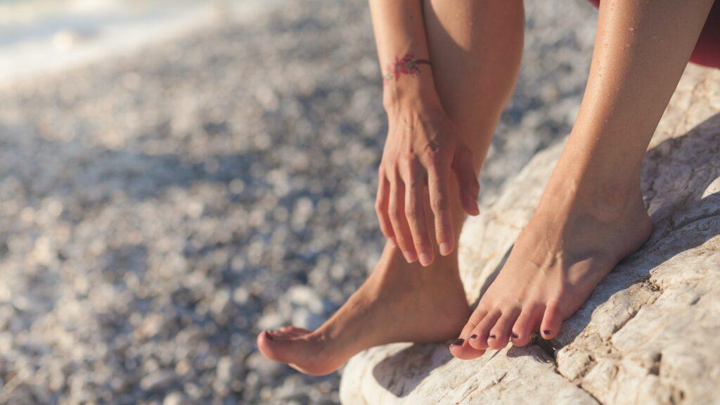 Cuidado de pies en verano